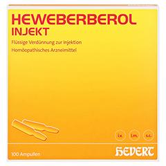 HEWEBERBEROL injekt Ampullen 100 Stück N3 - Vorderseite