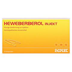 HEWEBERBEROL injekt Ampullen 10 Stück N1 - Vorderseite