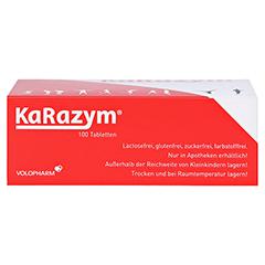 Karazym Magensaftresistente Tabletten 100 Stück - Unterseite