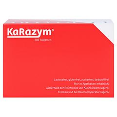 Karazym Magensaftresistente Tabletten 200 Stück - Unterseite