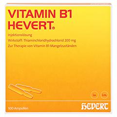 Vitamin B1-Hevert 100 Stück - Vorderseite