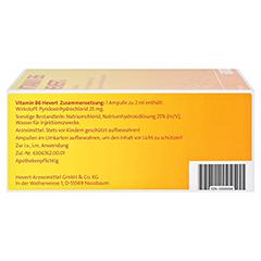 Vitamin B6-Hevert 100x2 Milliliter - Rechte Seite