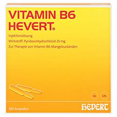 Vitamin B6-Hevert 100x2 Milliliter - Vorderseite