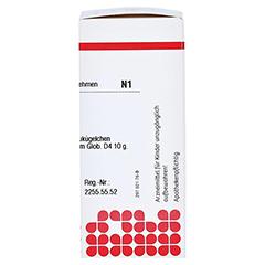 ATROPINUM SULFURICUM D 4 Globuli 10 Gramm N1 - Rechte Seite