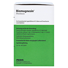 Biomagnesin Madaus 200 Stück N3 - Rechte Seite