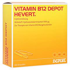 VITAMIN B12 DEPOT Hevert Ampullen 100 Stück