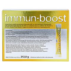 Immun-boost Orthoexpert Direktgranulat 56x3.8 Gramm - Rückseite