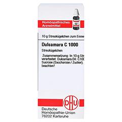 DULCAMARA C 1000 Globuli 10 Gramm N1 - Vorderseite