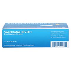 Valeriana Hevert Beruhigungsdragees 100 Stück - Unterseite