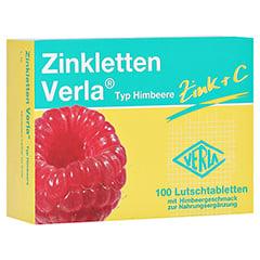 Zinkletten Verla Himbeere Lutschtablette 100 Stück