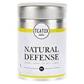 Natural Defense - Organic Green Tea With Ginger, Dose 70 Gramm