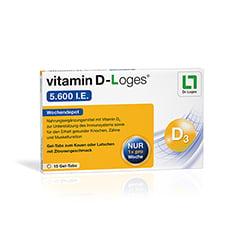 VITAMIN D-LOGES 5.600 I.E. Kautabletten 15 Stück