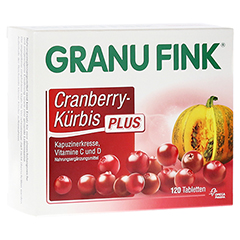 GRANU FINK Cranberry-Kürbis PLUS Tabletten 120 Stück