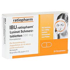 IBU-ratiopharm Lysinat Schmerztabletten 500mg 20 Stück