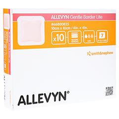 ALLEVYN Gentle Border Lite 10x10 cm Schaumverb. 10 Stück
