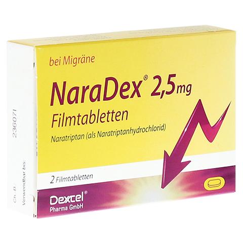 NaraDex 2,5mg 2 Stück N1