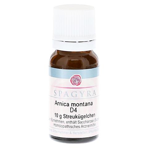 ARNICA MONTANA D 4 Globuli 10 Gramm N1