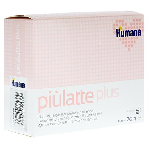 PIULATTE plus Humana Pulver z.Herst.e.Susp.z.Einn. 70 Gramm
