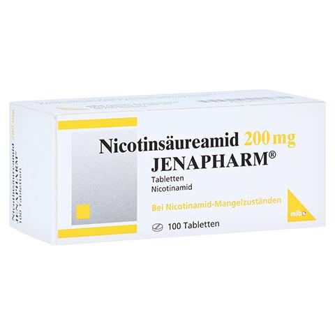 NICOTINSÄUREAMID 200 mg Jenapharm Tabletten 100 Stück N3
