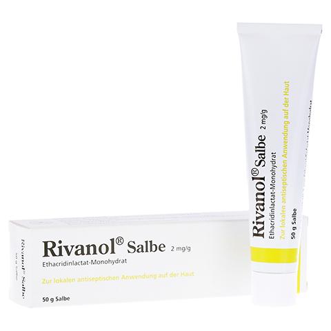 Rivanol Salbe 50 Gramm N2