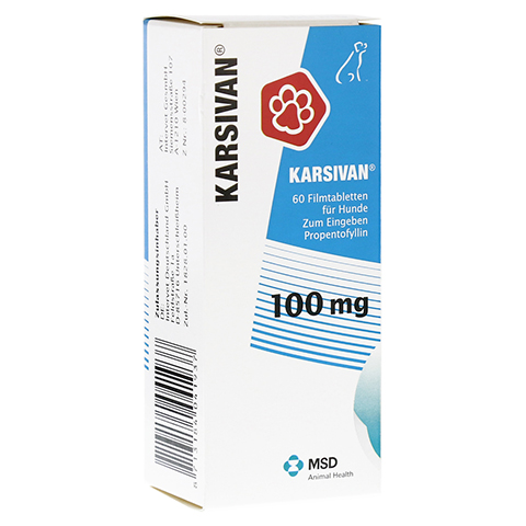 KARSIVAN 100 mg für Hunde 60 Stück