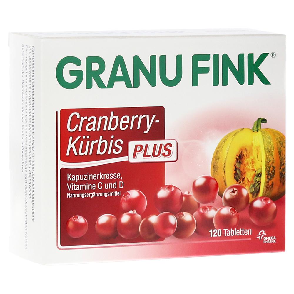 erfahrungen zu granu fink cranberry k rbis plus tabletten 120 st ck medpex versandapotheke. Black Bedroom Furniture Sets. Home Design Ideas