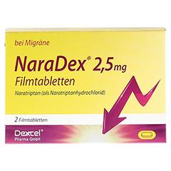 NaraDex 2,5mg 2 Stück N1 - Vorderseite