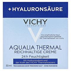 VICHY AQUALIA Thermal Dynam.Pflege reichh. + gratis Vichy Mineral 89 Mini 50 Milliliter - Vorderseite