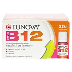 EUNOVA B12 Komplex Trinkfläschchen 30x10 Milliliter - Vorderseite