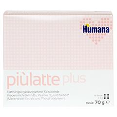 PIULATTE plus Humana Pulver z.Herst.e.Susp.z.Einn. 70 Gramm - Vorderseite