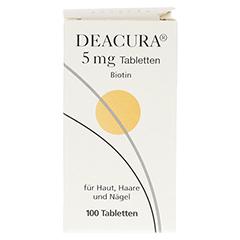 DEACURA 5 mg Tabletten 100 Stück N3 - Vorderseite