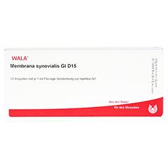 MEMBRANA synovialis GL D 15 Ampullen 10x1 Milliliter N1 - Vorderseite