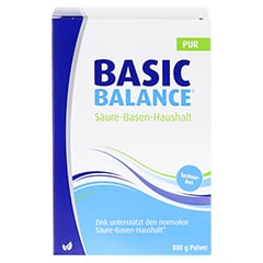 Basic Balance Pur Pulver 800 Gramm - Vorderseite