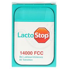Lactostop 14.000 FCC Tabletten im Spender 80 Stück - Vorderseite
