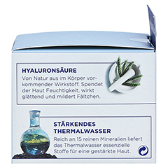 VICHY AQUALIA Thermal Dynam.Pflege reichh. + gratis Vichy Mineral 89 Mini 50 Milliliter - Linke Seite