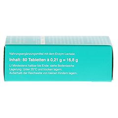 Lactostop 14.000 FCC Tabletten im Spender 80 Stück - Linke Seite