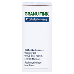 GRANU FINK Prosta forte 500mg 80 Stück - Rechte Seite