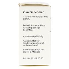 DEACURA 5 mg Tabletten 100 Stück N3 - Rechte Seite