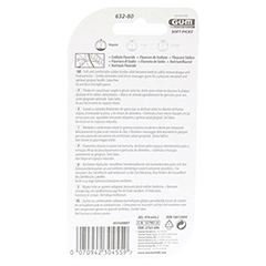 GUM Soft-picks Vorteilspack 80 Stück - Rückseite
