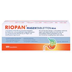 Riopan Magen Tabletten Mint 100 Stück N3 - Rückseite