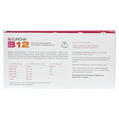 EUNOVA B12 Komplex Trinkfläschchen 100x10 Milliliter - Rückseite