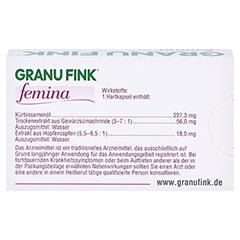 GRANU FINK femina 30 Stück - Rückseite