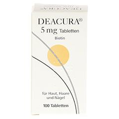 DEACURA 5 mg Tabletten 100 Stück N3 - Rückseite