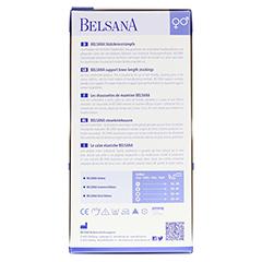 BELSANA Cotton Stütz-Kniestrumpf AD Gr.4 anthrazit 2 Stück - Rückseite
