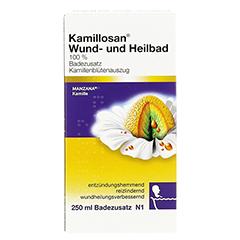KAMILLOSAN Wund- und Heilbad 250 Milliliter N1 - Rückseite