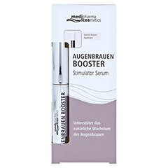 medipharma Augenbrauen Booster Augenbrauenserum 4 Milliliter - Vorderseite