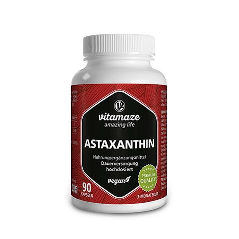 ASTAXANTHIN 4 mg vegan Kapseln 90 Stück