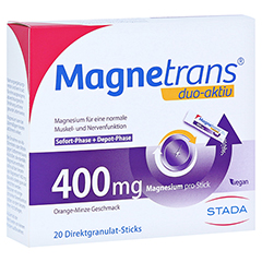 MAGNETRANS duo-aktiv 400 mg Sticks 20 Stück