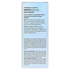 medipharma Wimpern Expert-Duo Boost & Repair 8 Milliliter - Rückseite