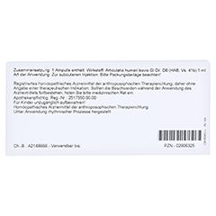 ARTICULATIO humeri GL D 6 Ampullen 10x1 Milliliter N1 - Rückseite